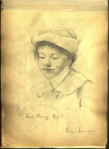 A sketch of Alma Clarke