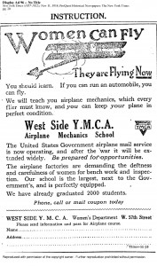 Women Can Fly YMCA Ad