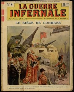 Imagined War fiction existed in all forms of literature from novels to comics before World War I actually occured.