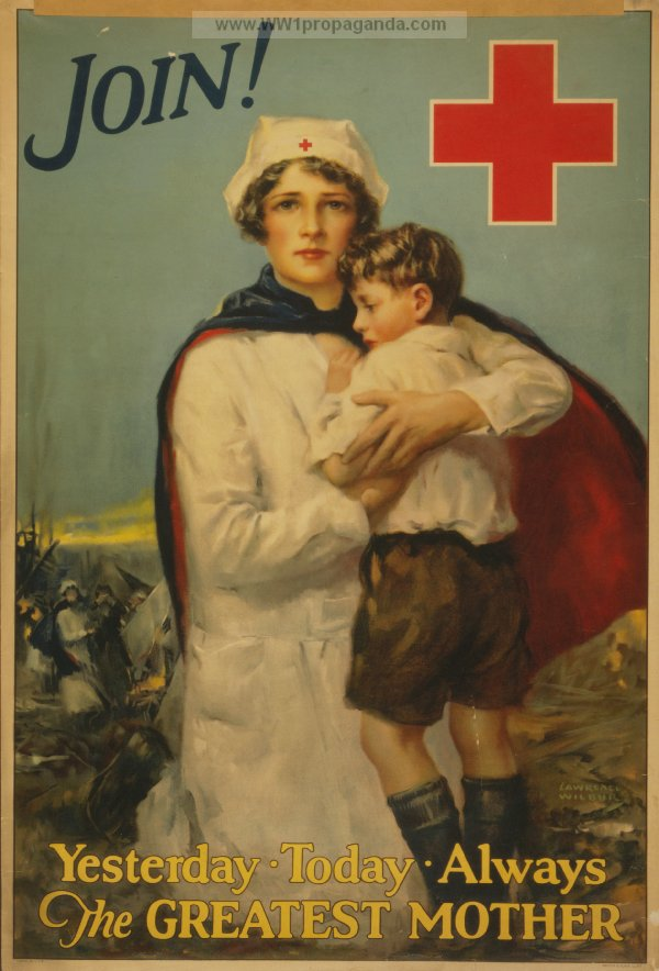 The Red Cross Nurse As A Maker Of Propaganda Remembering